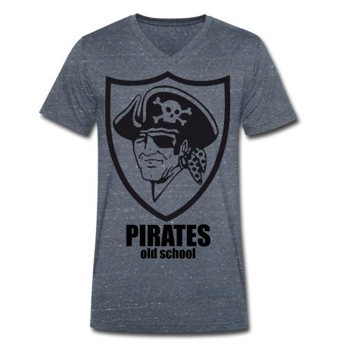 old school - T-shirt ecologica da uomo con scollo a V di Stanley & Stella