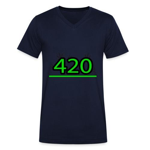 420 - T-shirt bio col V Stanley & Stella Homme