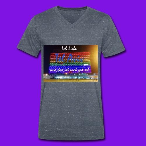 fullsizeoutput_476 - Men's Organic V-Neck T-Shirt by Stanley & Stella