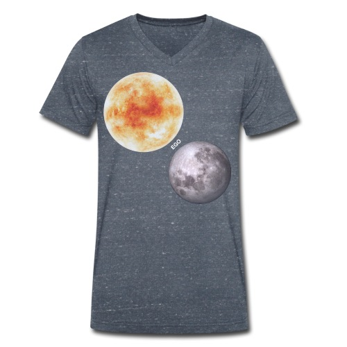Ego - Camiseta ecológica hombre con cuello de pico de Stanley & Stella