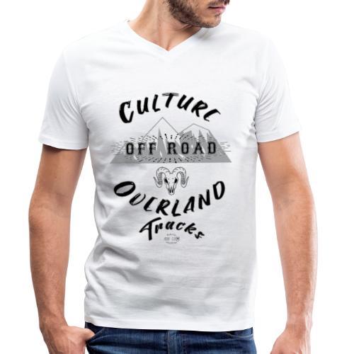 Overland Culture - Camiseta ecológica hombre con cuello de pico de Stanley & Stella