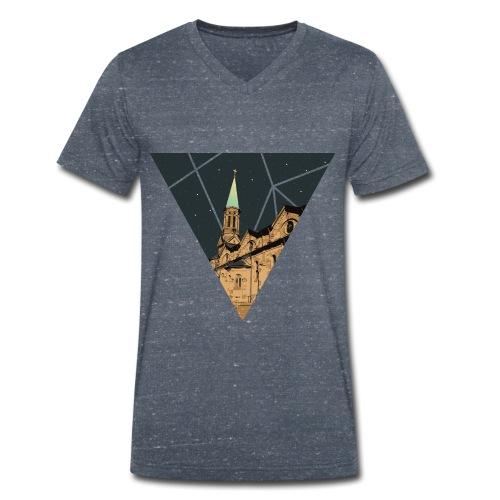 Kirche St Barbara Forst - Männer Bio-T-Shirt mit V-Ausschnitt von Stanley & Stella