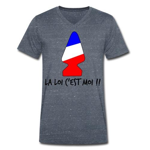la loi c est moi - T-shirt bio col V Stanley & Stella Homme