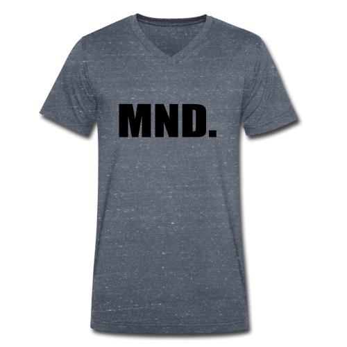MND. - Mannen bio T-shirt met V-hals van Stanley & Stella