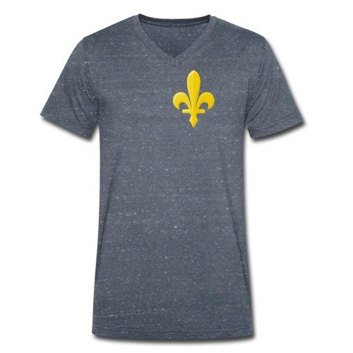 Zlatni Ljiljan - Men's Organic V-Neck T-Shirt by Stanley & Stella