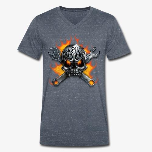 biker style - T-shirt bio col V Stanley & Stella Homme