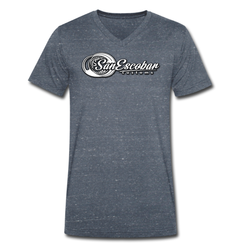San Escobar Customs - Ekologiczna koszulka męska z dekoltem w serek Stanley & Stella