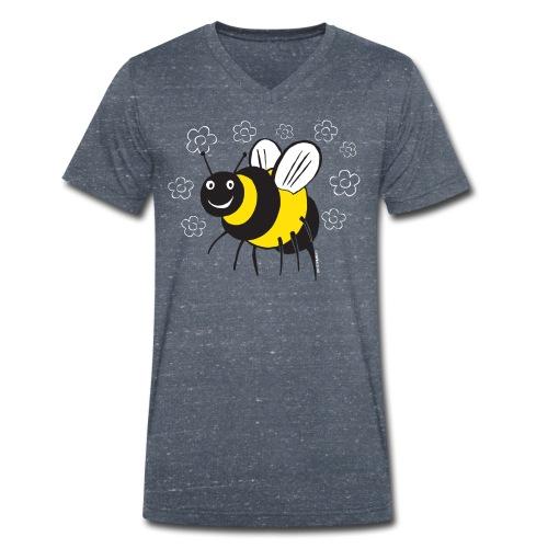 MEHILÄINEN BEE, Textiles and Gifts 10-1E - Stanley & Stellan miesten luomupikeepaita