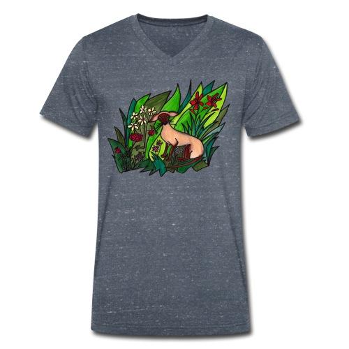 Funtes trädgård - Ekologisk T-shirt med V-ringning herr från Stanley & Stella
