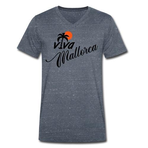 Viva Mallorca - Männer Bio-T-Shirt mit V-Ausschnitt von Stanley & Stella