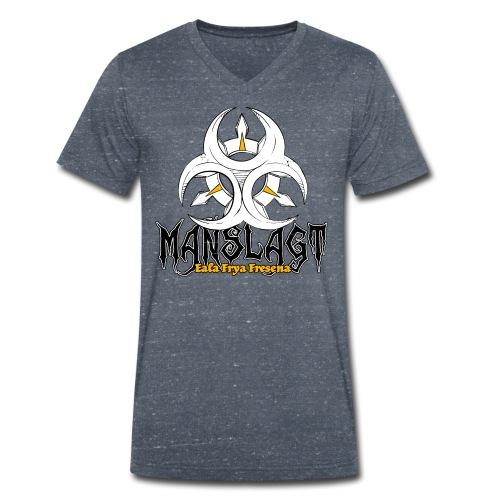 Ostfriesland Häuptlinge Manslagt - Männer Bio-T-Shirt mit V-Ausschnitt von Stanley & Stella