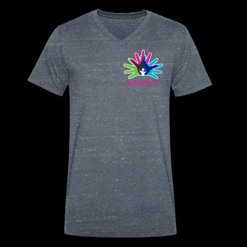 Rare Disease Day - Men's Organic V-Neck T-Shirt by Stanley & Stella