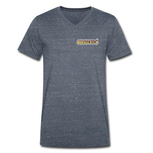 logo bon scotch - Männer Bio-T-Shirt mit V-Ausschnitt von Stanley & Stella