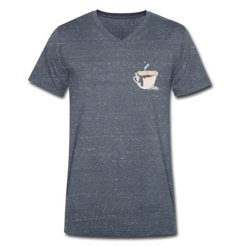 Caffè - T-shirt ecologica da uomo con scollo a V di Stanley & Stella