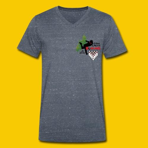 BOWLING ASCEE40 - T-shirt bio col V Stanley & Stella Homme