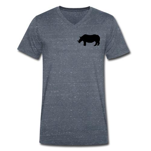 Kleines Narshorn - Männer Bio-T-Shirt mit V-Ausschnitt von Stanley & Stella