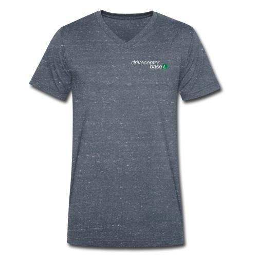 drive center logo black - Männer Bio-T-Shirt mit V-Ausschnitt von Stanley & Stella