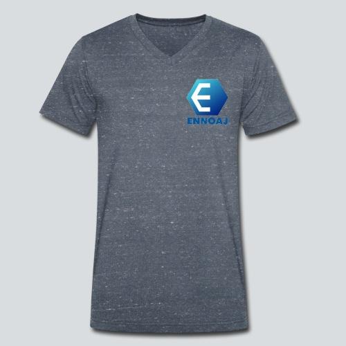 ennoaj - Mannen bio T-shirt met V-hals van Stanley & Stella