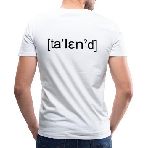Talent - Økologisk Stanley & Stella T-shirt med V-udskæring til herrer