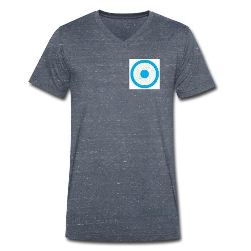 Tanzender Engel - Männer Bio-T-Shirt mit V-Ausschnitt von Stanley & Stella