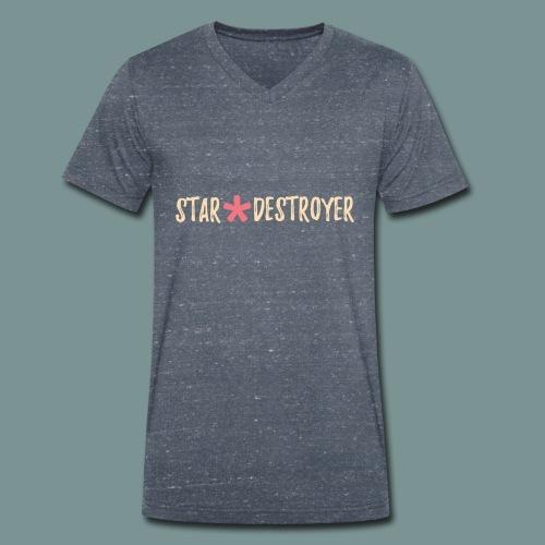 Star Destroyer - Mannen bio T-shirt met V-hals van Stanley & Stella