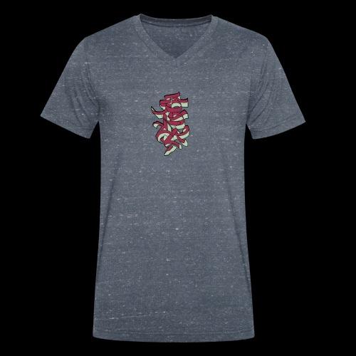 Asian Vision - Männer Bio-T-Shirt mit V-Ausschnitt von Stanley & Stella