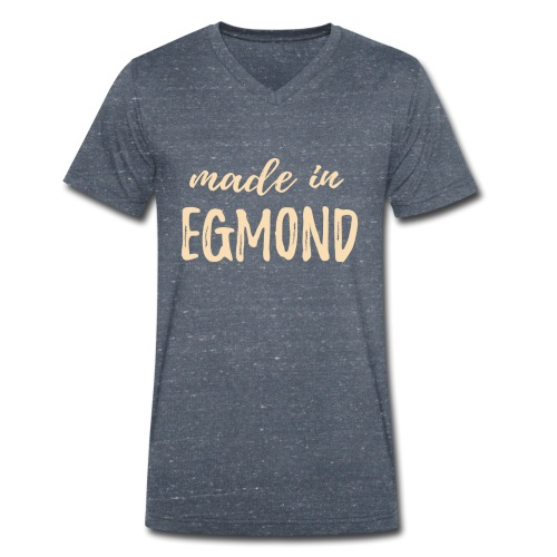 Made in Egmond - Mannen bio T-shirt met V-hals van Stanley & Stella