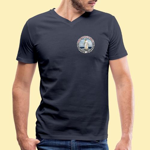 Ordre Druidique de Dahut Logo - T-shirt bio col V Stanley & Stella Homme