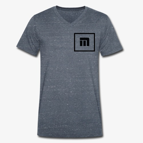 Malecka logo petit - T-shirt bio col V Stanley & Stella Homme