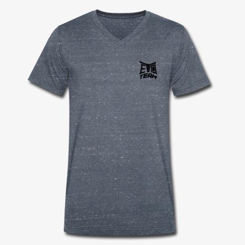 EvoTeam Petit Noir - T-shirt bio col V Stanley & Stella Homme