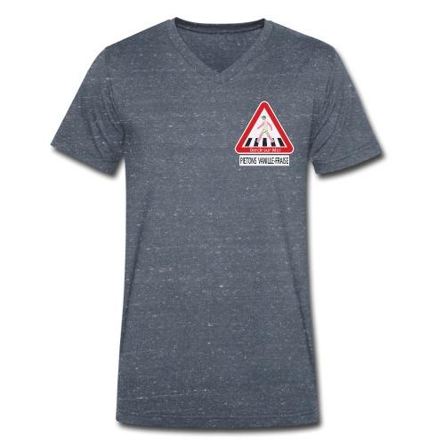 Berck-sur-mer: Piétons Vanille-Fraise - T-shirt bio col V Stanley & Stella Homme