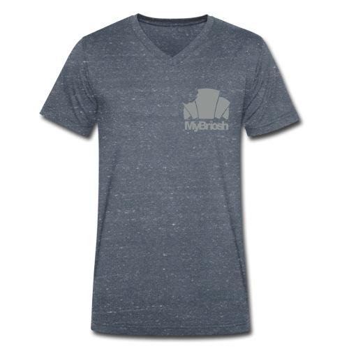 LogoMyB - T-shirt ecologica da uomo con scollo a V di Stanley & Stella