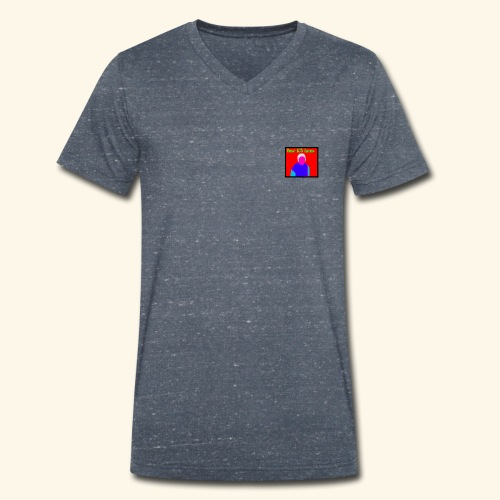 Beast 1425 gaming logo - Men's Organic V-Neck T-Shirt by Stanley & Stella