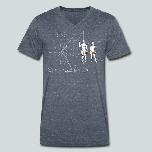 Basketball Pioneer Plaque - T-shirt bio col V Stanley & Stella Homme
