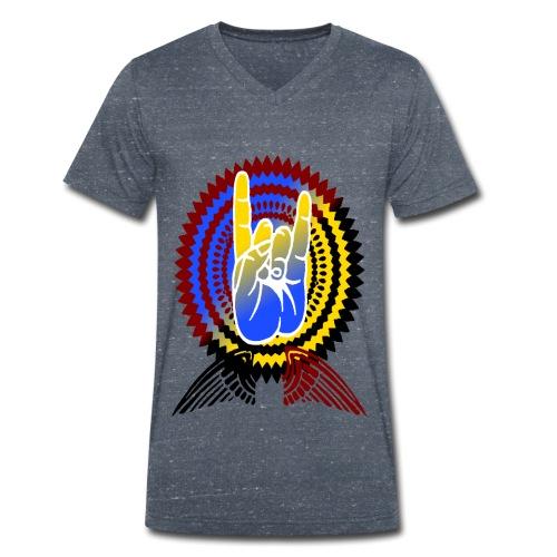 Rock it - Männer Bio-T-Shirt mit V-Ausschnitt von Stanley & Stella