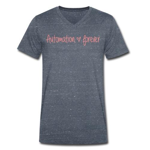 shirt 2013 11 - Männer Bio-T-Shirt mit V-Ausschnitt von Stanley & Stella