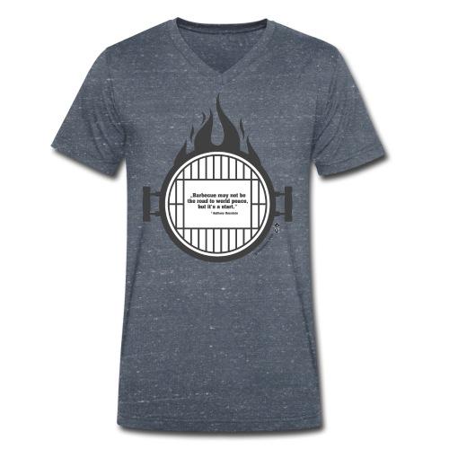 Anthony Bourdain - Männer Bio-T-Shirt mit V-Ausschnitt von Stanley & Stella