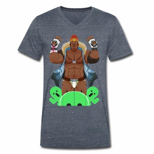 For N.O.R.A. - Men's Organic V-Neck T-Shirt by Stanley & Stella