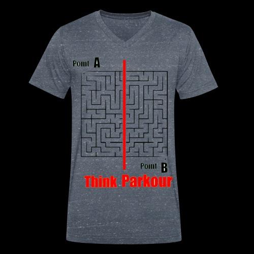 maze - Men's Organic V-Neck T-Shirt by Stanley & Stella