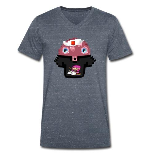 Ollie Merchandise - Mannen bio T-shirt met V-hals van Stanley & Stella