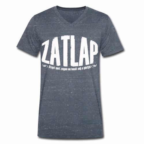 Zatlap1a - Mannen bio T-shirt met V-hals van Stanley & Stella