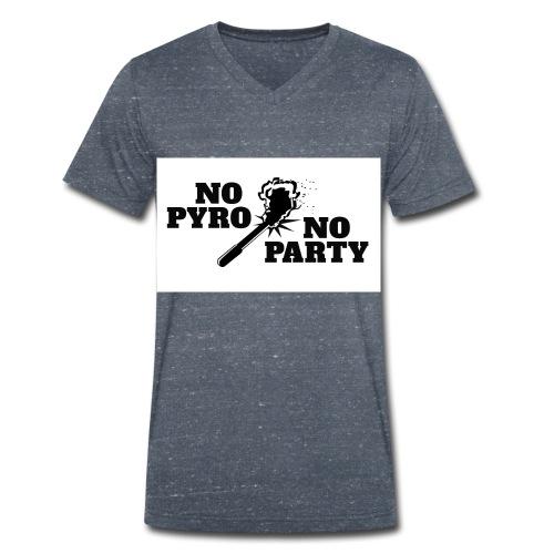 ultras w jpg - Männer Bio-T-Shirt mit V-Ausschnitt von Stanley & Stella