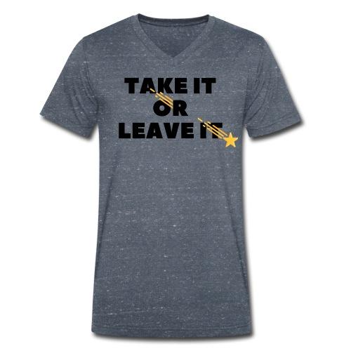 Take It Or Leave It - T-shirt bio col V Stanley & Stella Homme