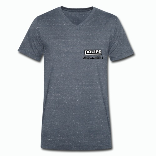no life logo - T-shirt bio col V Stanley & Stella Homme