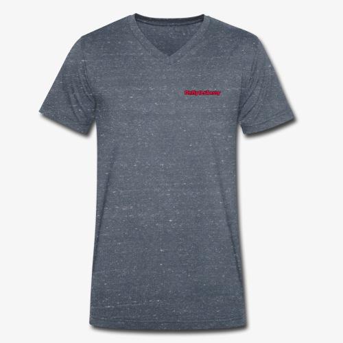 OhMyItsTasty - Men's Organic V-Neck T-Shirt by Stanley & Stella