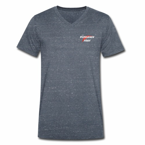 Puissance foot Freestyle - T-shirt bio col V Stanley & Stella Homme