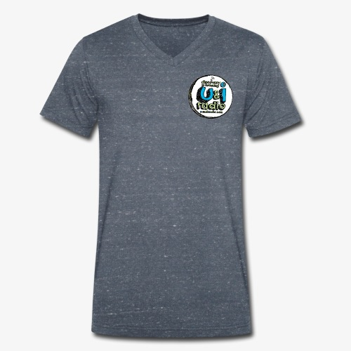 U & I Logo - Men's Organic V-Neck T-Shirt by Stanley & Stella