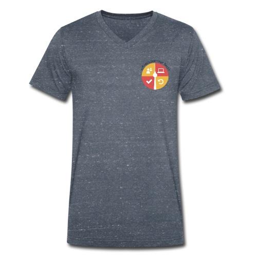 swk logo normal png - Men's Organic V-Neck T-Shirt by Stanley & Stella