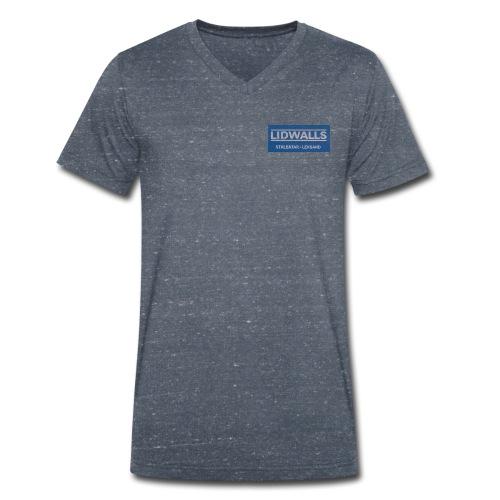 Lidwalls Stålbåtar - Ekologisk T-shirt med V-ringning herr från Stanley & Stella