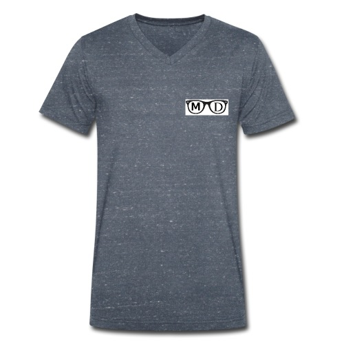The Glasses - Men's Organic V-Neck T-Shirt by Stanley & Stella